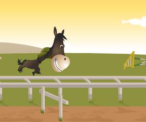Jeux de saut d 39 obstacle - Jeux de poney qui saute ...